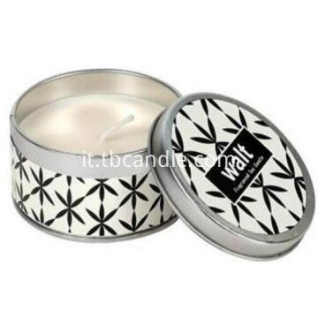 Handmade Grapefruit scented soy wax candle with tin