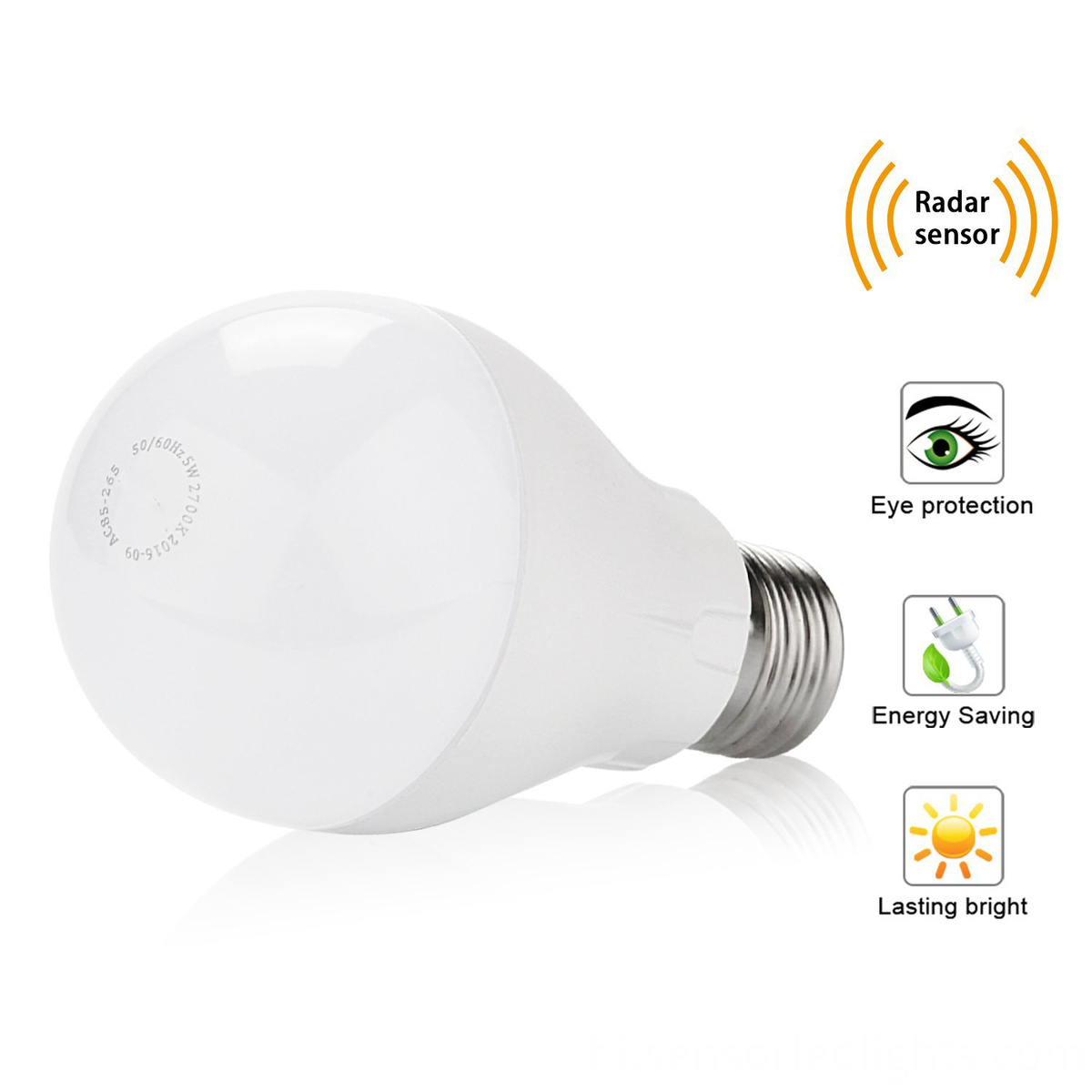 led sensor bulb light