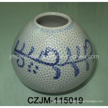 Pote de cerámica