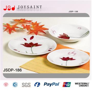 Decoration Porcelain Hotel Ware New Bone China Dish Sets