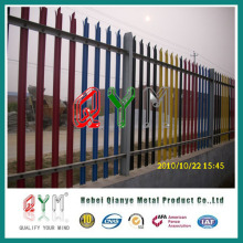 Palisade Fencing with ′d′ Pale Profile, and ′w′ Section Pale Manufacturing