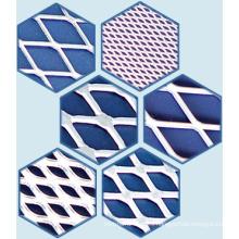 Material del filtro, malla de aluminio expandida