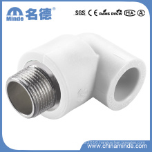 PPR Male Elbow Type B Fitting for Building Materials