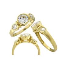 Кольцо Сделано в Китае для женщины с камнем CZ