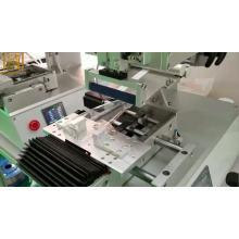Semi-automatic label printer machine roll sticker