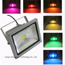 20W IP65 RGB controlador remoto LED Floodlight