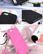 Cute wholesale promotional Silicone Phone Case with Chain