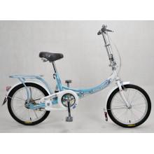 Bicicleta de cidade bonita bicicleta dobrável