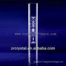 pilier de cristal de décoration