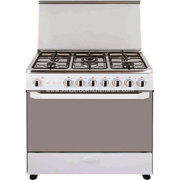 Freestanding 5 Burners Cooker Gas Stove with Oven