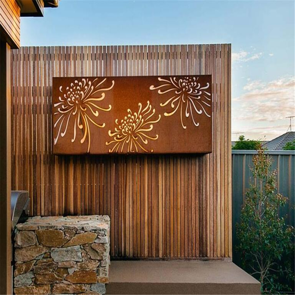 Beautiful Design Metal Screen Art
