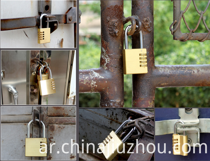 Brass Combination Lock Lock Your Door