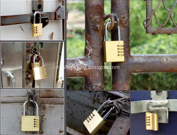 Combination Code Padlock Safe The Door