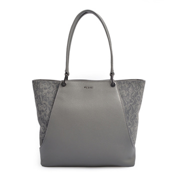Cabata Leopard-Embossed Leather Tote Bedfordレザーバッグ