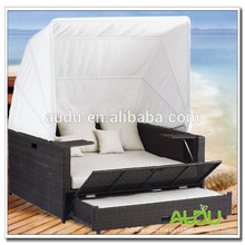 Audu Seaside Hotel Rattan Outdoor Pool Bed