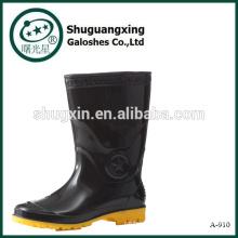 Мужская мода боевых дождя сапоги половину дождь обуви обложек A-910
