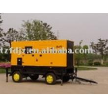 groupe électrogène de tracteur mobile