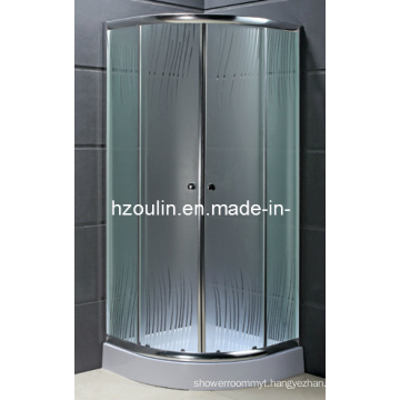 Tempered Glass Shower Enclosure with ISO9001 (AS-917B)