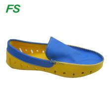bright color flat shoe men,beach shoe men,summer shoe men