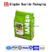 Bolsa personalizada para alimentos para mascotas con estampado de sellado