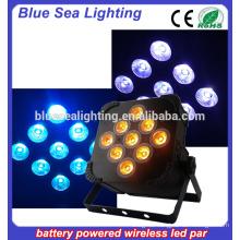 18w rgbw a uv led wireless light or led stage par light