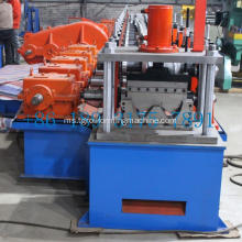 Guardrail crash barrier machine