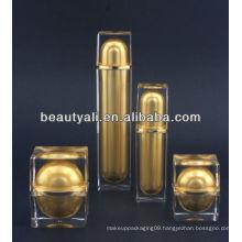 square lotion acrylic bottle