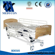 Electric wooden hospital bed