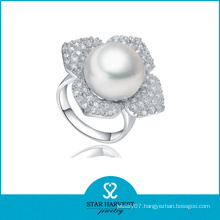 Wholeslae Sterling Silver Pearl Ring (SH-J-0102R)