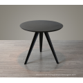 Wholesale Fashion Modern Design MDF top Metal Legs Round Dining Table