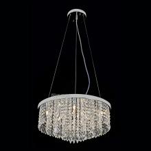 circular pendant light crystal chandelier lighting modern
