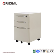 Armoire de bureau en métal à 3 tiroirs en acier de bureau 2017