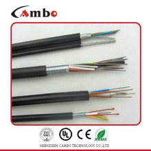 Factory price for telecom projects steel tape double armoured multi pairs SM/MM fibre optic installation costs