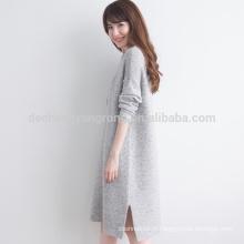 manteau multicolore de conception de laine de modèle de tricotage