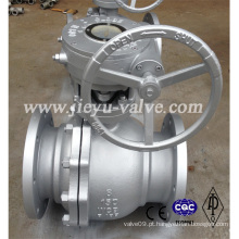 Válvulas de esfera de aço carbono Full Port Flange End Class 150 Wcb Design