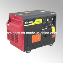 6kw Portable Silent Diesel Engine Power Generator Set (DG8500SE)