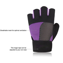 Gym Exercise Dumbbell Anti skid Guantes de ejercicios