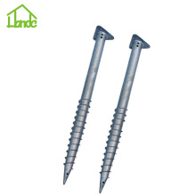 Galvanized Triangle Ground Screw Untuk Rusia