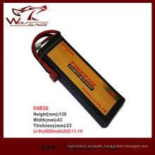 Plus Firefox-3600mAh 11.1V 20c Li-Po Li-Polymer Battery
