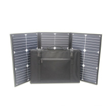 60W 18V sunpower folding portable flexible solar panel
