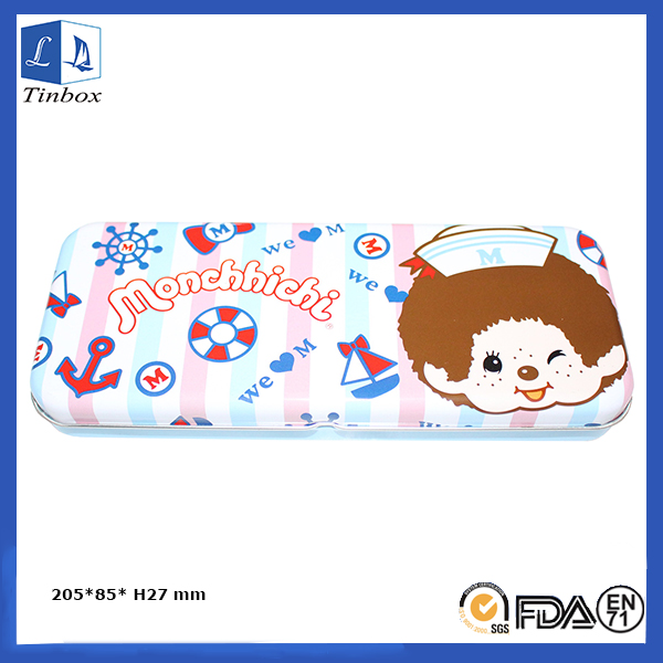 Cartoon Paperery Tin Box