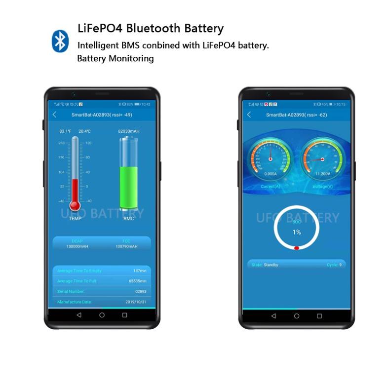 Lifepo4 Bluetooth Battery