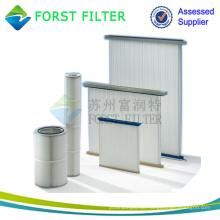 FORST Aluminium Filter Medien Strahlen Staub Filter Kartusche Hersteller