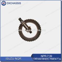 Genuine NQR 700P Crown Wheel Piñón Gear 7:39 NPR-7: 39