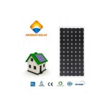 Módulo de energia solar de silício monocristalino de alta eficiência de 200W
