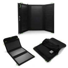ECEEN mini USB 20W portable solar panel charger solar cell fabric