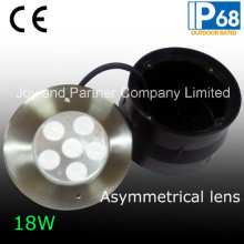 24VDC 18W luces empotradas asimétricas de la piscina (JP-94762-AS)
