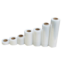 Stretch Film for Shipping PE White Short Transparent PE Plastic Stretch Packing Film