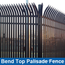 Bend Top Palisade Fence for High Security (HP-FENCE0117)