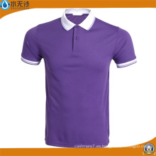 Fábrica al por mayor Hombres Deporte Camisetas Stretch Polo Shirts